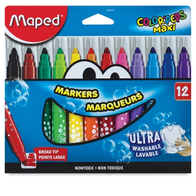Markers, Set of 10