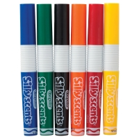Silly Scents Washable Markers, Set of 6