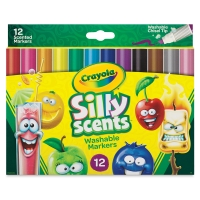 Silly Scents Washable Markers, Set of 12