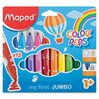 My First Jumbo Markers, Set of 12