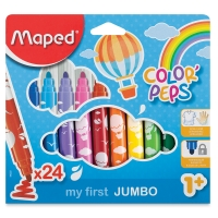 My First Jumbo Markers, Set of 24