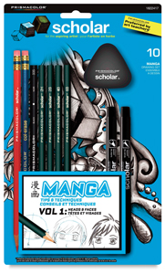 Prismacolor Scholar Manga Drawing Set