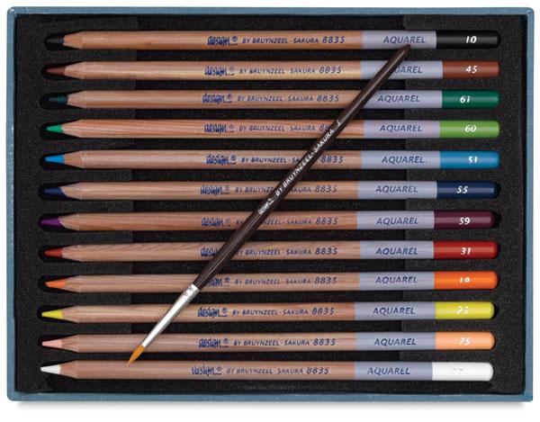 Aquarel Pencils, Set of 12