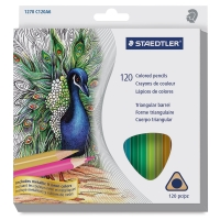 Triangular Colored Pencils, Set of 120