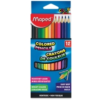 Color'Peps Triangular Colored Pencils, Set of 12