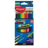 Color'Peps Triangular Colored Pencils, Set of 24