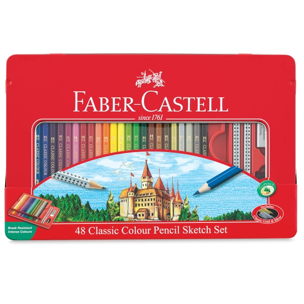 Classic Color Pencil Set of 48