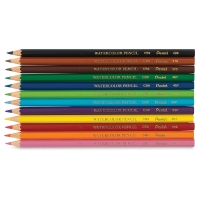 Watercolor Colored Pencils, Set of 12