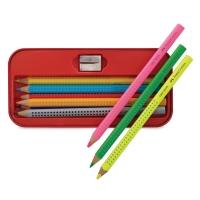 Jumbo Grip Pencil Tin