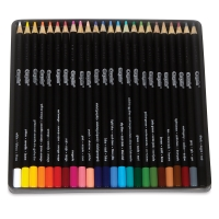 Artist Colored Pencils, Set of 24