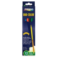 Duo-Color Colored Pencils, Set of 12