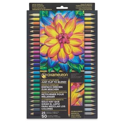 Color Tones Colored Pencils, Set of 25