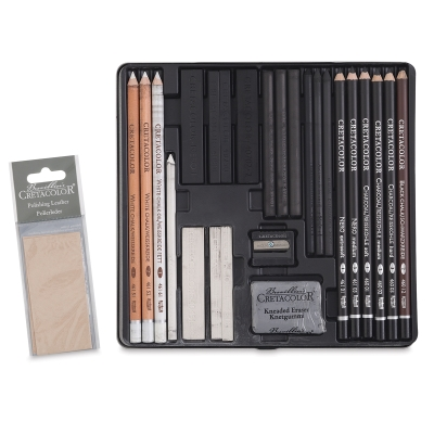 Black & White Drawing Set
