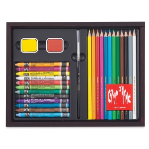 Caran d'Ache Discovery Mixed Media Set
