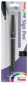 Sign Pen, Pigment Ink