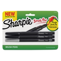 Sharpie Brush Tip Art Pens, Set of 3