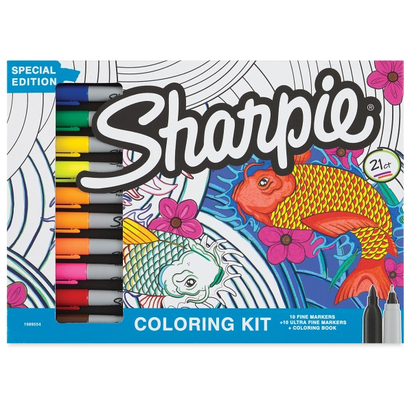 Sharpie Deep Sea Color Collection Kit - BLICK art materials