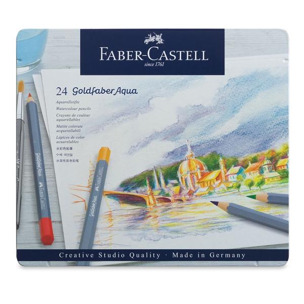 Purple Violet 136 Faber-Castell Goldfaber Aqua Watercolour Pencil Creatieve hobby's