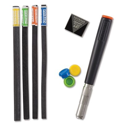 Stylus and Soft Charcoal Sticks