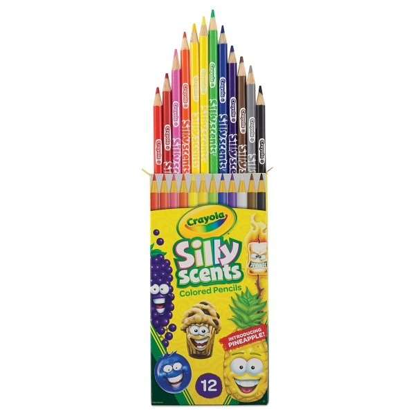 Silly Scents Colored Pencils, Set of 12