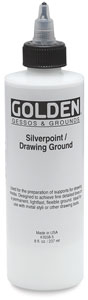 Silverpoint Drawing Ground