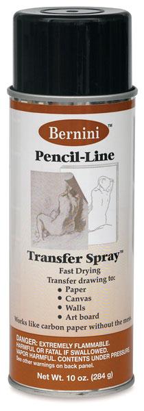 Pencil-Line Transfer Spray