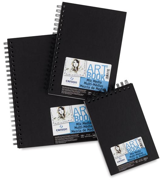 Mix Media Hardbound ArtBooks