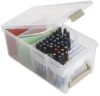 Marker Storage Satchel with Tray, Supplies not included