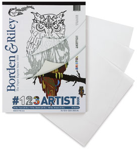#123 Artist Book, 50 Sheets