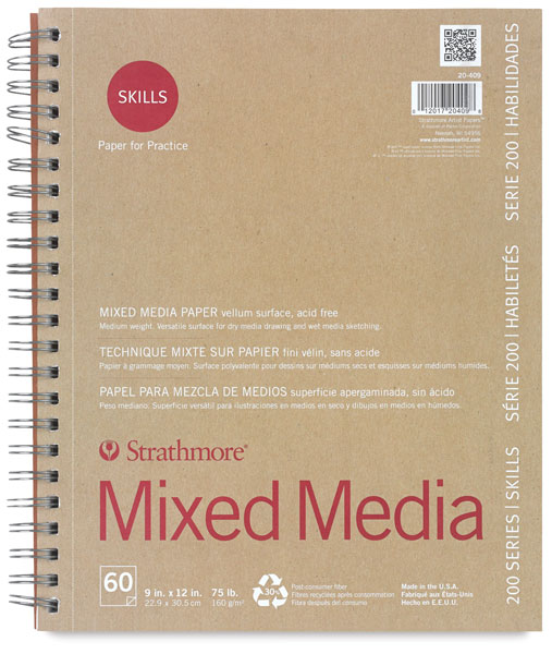 Mixed Media Pad, 60 Sheets