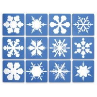 Super Snowflake Stencils, Set of 12