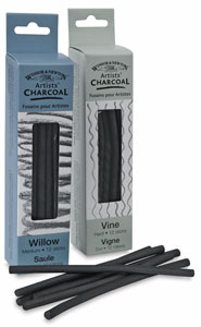 Winsor & Newton Vine & Willow Charcoal Packs