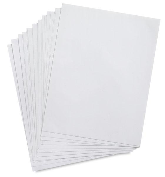 Dry Adhesive, 25 Sheets