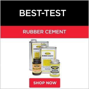 Best-Test Rubber Cement