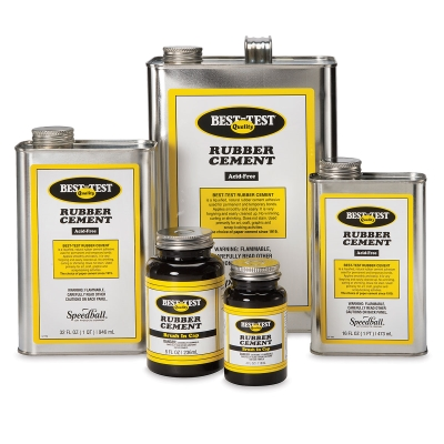 Best Test Rubber Cement Blick Art Materials