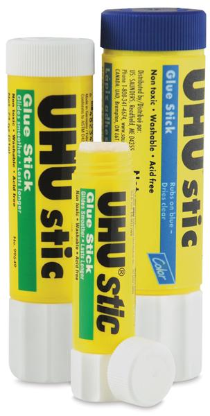 uhu stic glue sticks blick art materials