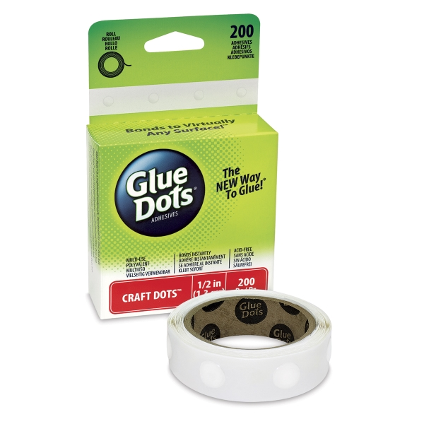 Original Glue Dots, Craft, Box of 200