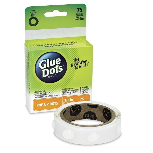 Pop Up Glue Dots, Box of 75