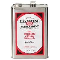 Best-Test Acid-Free Paper Cement, Gallon