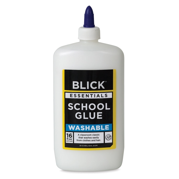 Washable White Glue, 16 oz