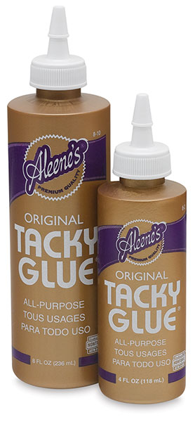 Tacky Glue, 4 oz and 8 oz