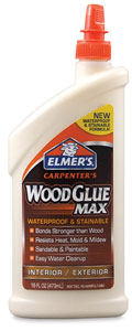 Stainable Wood Glue, 16 oz
