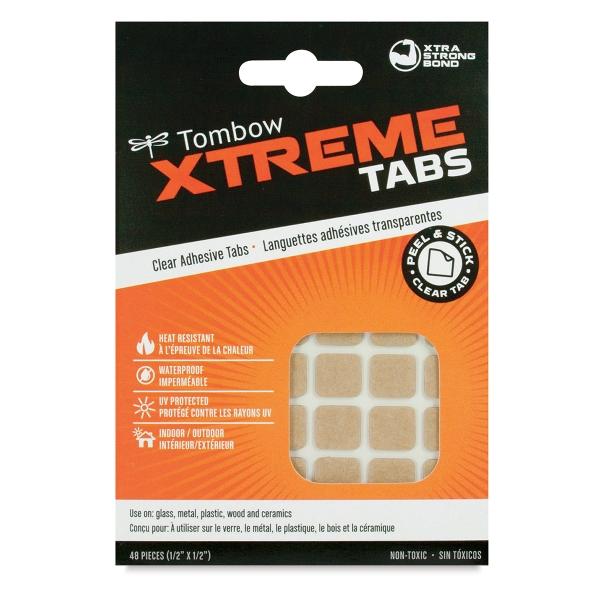 Xtreme Adhesive Tabs, Pkg of 48