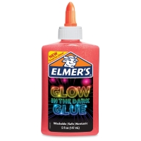 Glow in the Dark Glue, Pink