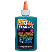 Glow in the Dark Glue, Blue