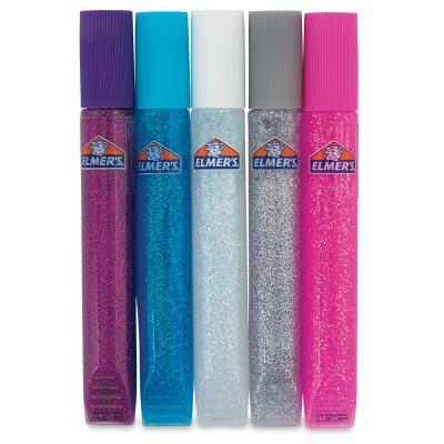 Let it Sparkle Glitter Glue Pens, Set of 5