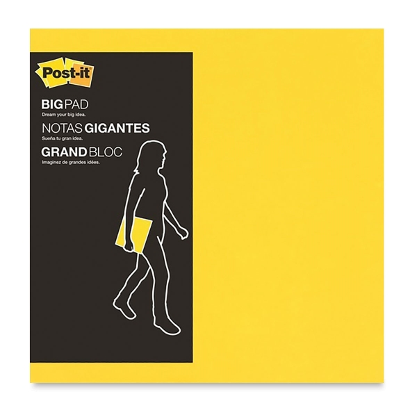 Super Sticky Big Notes, Yellow