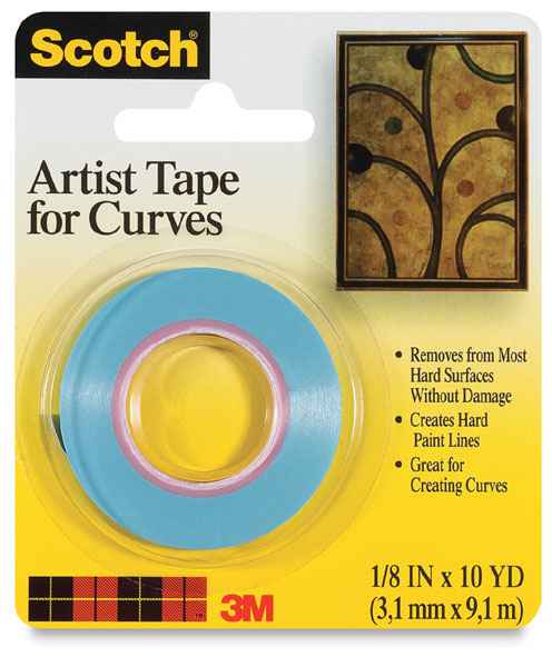 Artist Tape for Curves