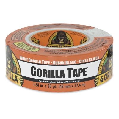 """Gorilla Tape, White, 1.88"""" × 30 yd"""