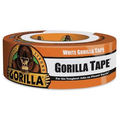 """Gorilla Tape, White, 1.88"""" × 10 yd"""
